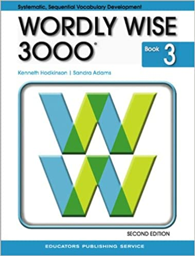wordly wise 3000 grade 3 student book 2nd edition kenneth
