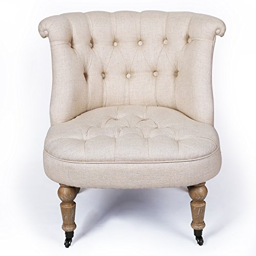 Luxury Edition Leisure Living Room Sofa Chair Accent Armchair Natural Tufted European Style  sc 1 st  Amazon.com & Luxury Chair: Amazon.com
