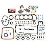 Evergreen Engine Rering Kit FSBRR3016EVE 98-04 Nissan Frontier Xterra 2.4 DOHC KA24DE Full Gasket Set, Standard Size Main Rod Bearings, Standard Size Piston Rings