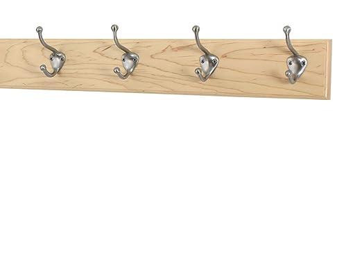 De madera de arce perchero con estilo para sombrero y ...