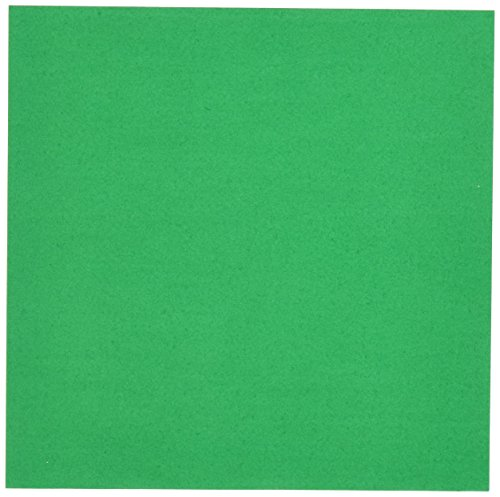 (Aitoh OG-GR Origami Paper, 5.875-Inch by 5.875-Inch, Green, 50-Pack)