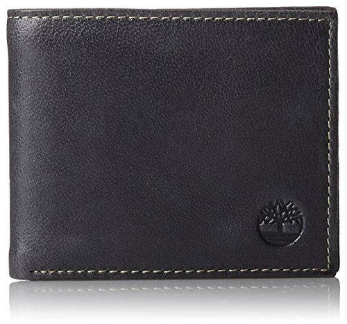 Timberland Men's Cloudy Passcase, Black, One Size
