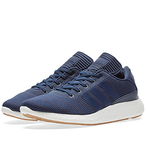 adidas Busenitz Pure Boost PK (Collegiate Navy/White/Gum 4) Men's Skate Shoes-10.5