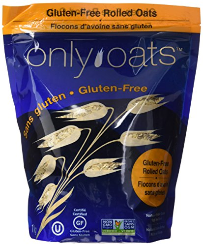 ONLY OATS Pure Whole Grain Rolled Oats, 1 Kilogram by ONLY OATS