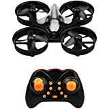 Mini RC Drone 2.4G 4CH 6 Axis Gyro Headless Mode Remote Control Helicopter Quadcopter with 360 Rolling One Key Return and LED Flight RC Plane
