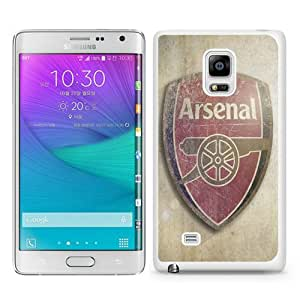 Unique Samsung Galaxy Note Edge Skin Case ,Fashionable And Durable Designed Phone Case With Vintage Arsenal Football Club Logo White Samsung Galaxy Note Edge Screen Cover Case