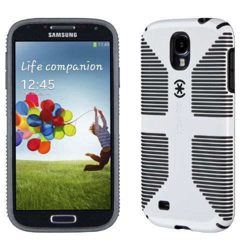 buy online 39479 a225e Speck Products CandyShell Grip Samsung Galaxy S4 Case - White/Black