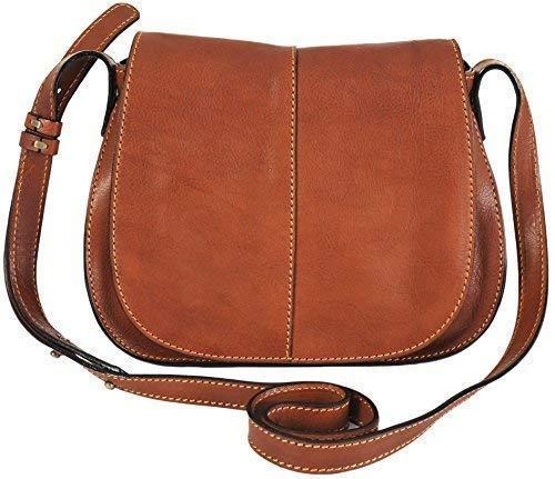 0c9efc583c1 Gianni Conti Fine Tan Italian Small Leather Shoulder Crossbody Bag 913741:  Amazon.co.uk: Shoes & Bags