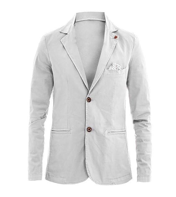 pochette bianca giacca uomo amazon