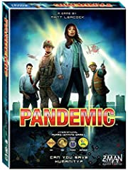 Four diseases have broken out in the world and it is up to a team of specialists in various fields to find cures for these diseases before mankind is wiped out. Players must work together playing to their characters' strengths and planning th...
