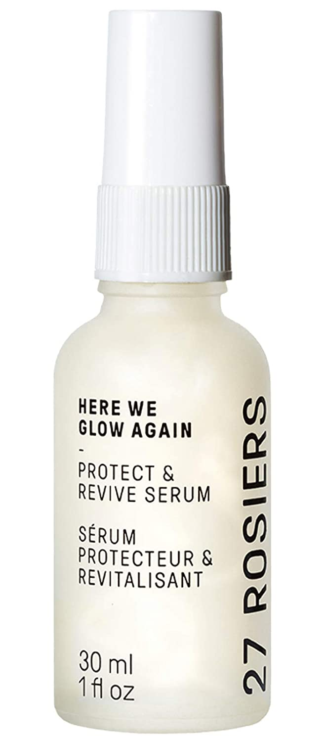 27 Rosiers - Protect & Revive Natural Face Serum   Here We Glow Again (1 fl oz   30 ml)
