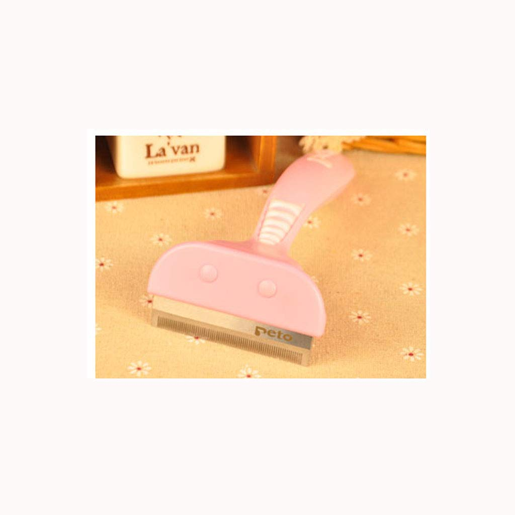Large Pure Pink Dog Dog Comb Large Dog Cat Comb Hair Removal Cat Except Float Comb Brush Pet Comb