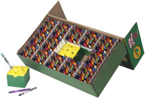 64 Color Crayon Classpack - Crayola 832 Ct Crayon Classpack, 64 Assorted Colors (52-8019)