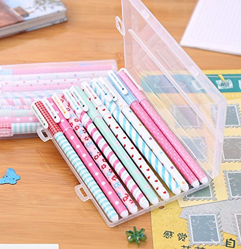 Westeng 12Pcs Children Student Multicolor Pens Set Drawing Pens Colorful Ink Pens for Coloring book Painting and Writing Drawing Sketching