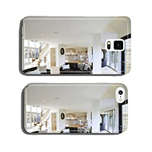 Interior View Of Beautiful Luxury Lounge And Dining Room cell phone cover case Samsung S6