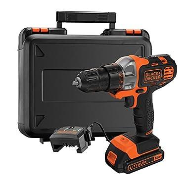 BLACK+DECKER MT218K-GB 18V 10mm Li-ion Cordless Multi-Evo Multitool Starter Kit with Drill Driver Head (Orange) 6