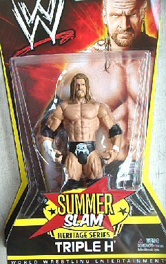 WWE Summer Slam Heritage 2007: Triple H Figure - PPV Series #9