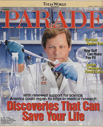 Discovers That Can Save Your Life l Amber Tamblyn - August 30, 2009 Parade Magazine