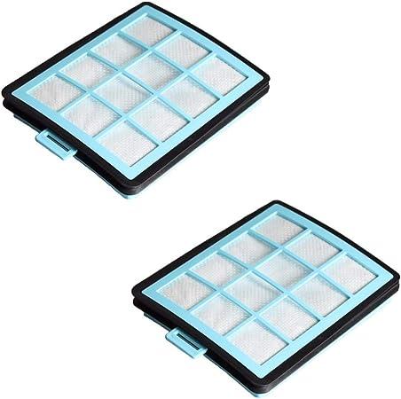 2 filtros de aspiración para aspiradora, robot aspirador, aspiradora multiusos Philips PowerPro filtro para Philips FC8760 FC8761 FC8764 FC8766 FC8767 FC8769 como 432200533151: Amazon.es: Hogar