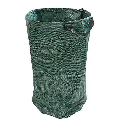 Buorsa 32 Gallons Garden Waste Bags Garden Leaf Waste Bag Heavy Duty Collapsible Basket with Handles by Buorsa