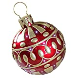 Design Toscano LED Christmas Ornaments – Gargantuan 2 Foot Tall Illuminated Outdoor Christmas Ornaments – LED Holiday Decor Statue Review