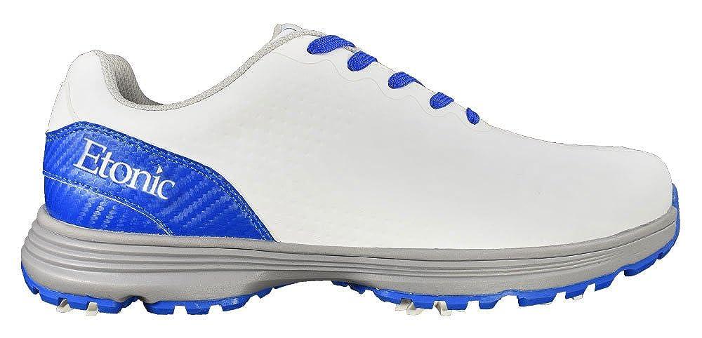 [Etonic] golf-スタビライザー靴 Size 13 Wide ホワイト/ブルー B07B6TMJC2