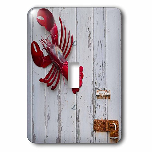 3dRose Danita Delimont - Objects - USA, Maine, Freeport, lobster pound, lobster toys - Light Switch Covers - single toggle switch - Maine Outlets Freeport