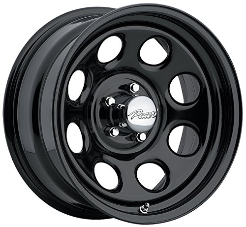 Pacer 297B SOFT 8 BLACK Black Wheel (16x8