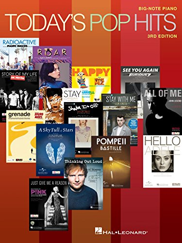 Today's Pop Hits: for Big-Note Piano ()