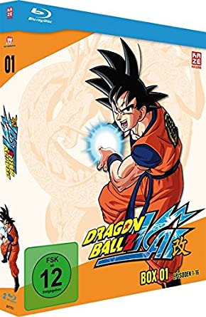 Dragonball Z Kai Box 1 Episoden 1 16 2 Discs Blu Ray Amazon De