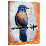 magazine article frame - Art Wall Bird on a Wire Gallery Wrapped Canvas Art by Susi Franco, 24 by 18-Inch