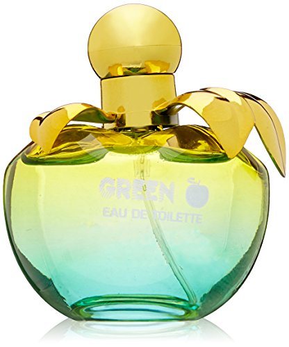 Apple Peony Eau De Toilette (Cosmo Designs Green Apple 3.4 Eau De Toilette Spray for Ladies)