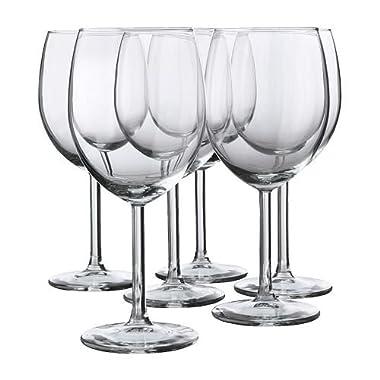 Red Wine Glass By Ikea- Svalka Series