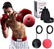 COVVY Boxing Fight Reflex Ball 2 Difficulty Level for Reaction Speed Hand Eye Coordination Agility and Punchin