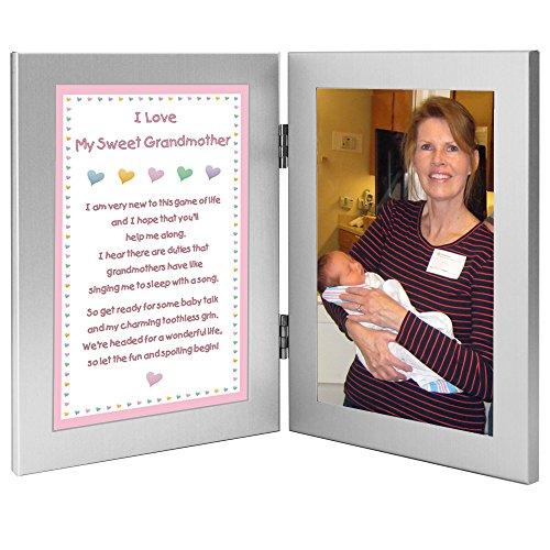 Granddaughter to Grandmother Gift for Grandma's Birthday, Valentine's Day or When Baby Is Born - Add Photo