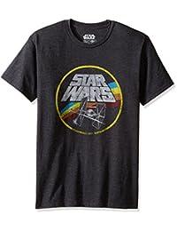 Star Wars Mens Circle Fight Short Sleeve T-Shirt
