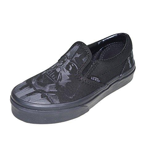 Vans Kids Classic Slip on Star Wars Dark Side Darth Vader Sneakers Shoes (11.5Y) by Vans