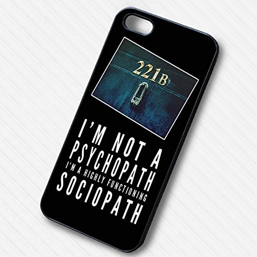 Detective series quote 221B - lxmi pour Coque Iphone 6 et Coque Iphone 6s Case J7G9WS