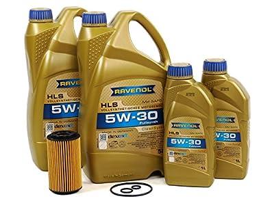 Blau J1A7002-A Motor Oil Change Kit - Compatible with 2014-17 Mercedes Benz Sprinter 2500 w/ 4 Cylinder 2.1L BlueTEC Diesel Engine