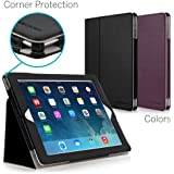 CaseCrown Bold Standby Pro Case (Black) for iPad 4th Generation with Retina Display, iPad 3 & iPad 2 with Sleep / Wake, Hand Grip, Corner Protection, & Multi-Angle Viewing Stand