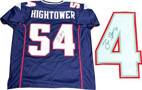 Donta Hightower Autographed New England Patriots Custom Jersey  Jsa
