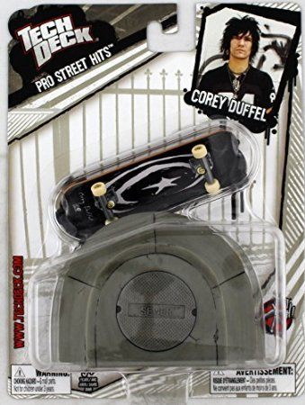 1 TECH DECK 96mm FINGERBOARD - PRO STREET HITS - COREY DUFFEL'S ()