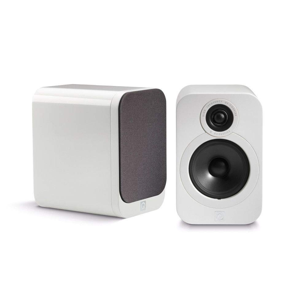 Q Acoustics 3020 Bookshelf Speakers (Pair) (Gloss White)Qアコースティクス Bookshelf (Gloss Speakers ブックシェルフ型スピーカー[並行輸入品] B07L5MXBRL, 今市市:e87fecbb --- blog.gravecogroup.com