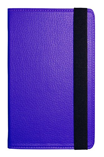 Visual Land Prestige 10-Inch Pro Folio Case, Purple (ME-T...