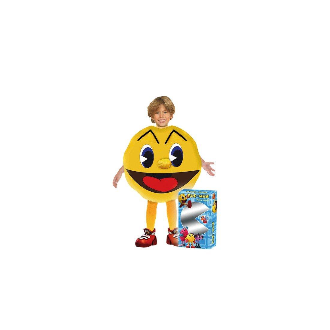 Josman Disfraz infantil Pac-Man con caja, talla 3: Amazon.es ...