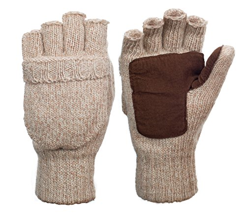 Metog Suede Thinsulate Thermal Insulation Mittens ,Gloves