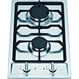 Ramblewood high efficiency 2 burner gas cooktop(Natural Gas), GC2-43N