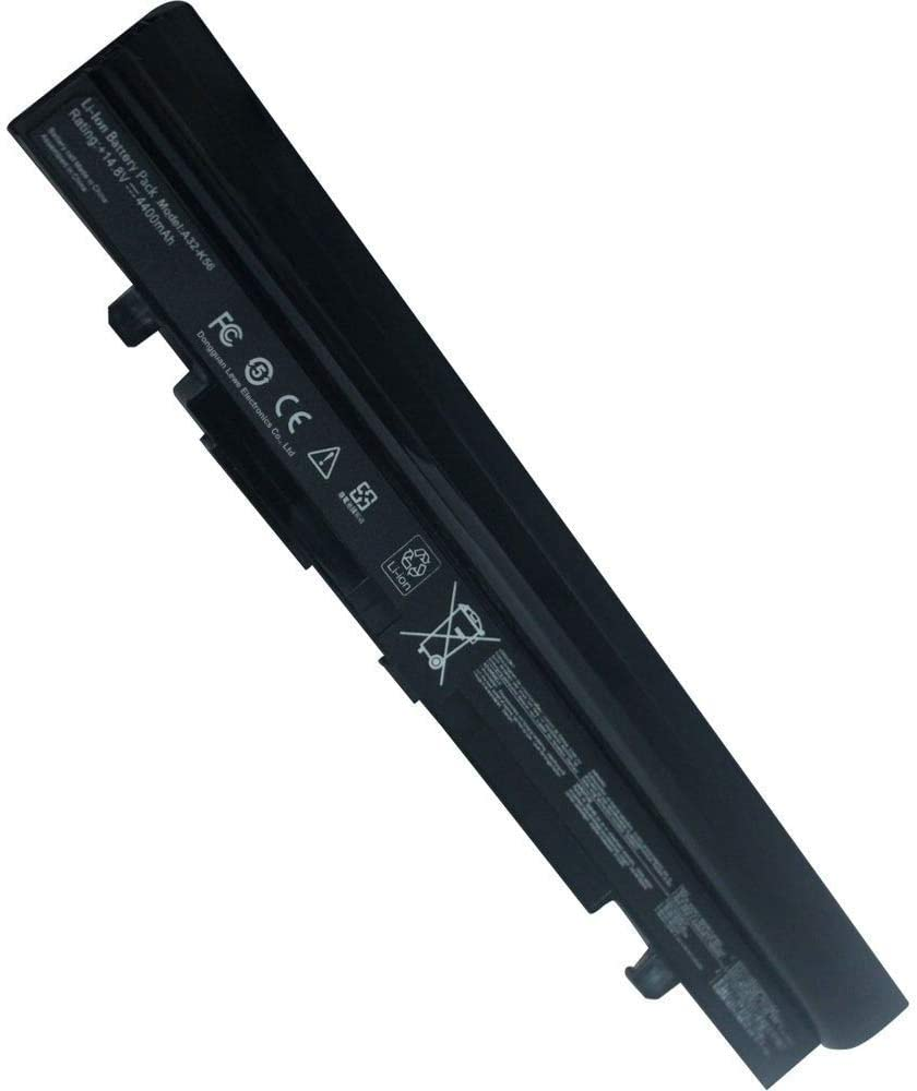Replacement Battery for Asus U46 U46E U46J U46Jc U46S U46Sd U46Sm U46Sv U56 U56E U56J U56Jc U56S U56Sv, P/N A32-U46 A41-U46 A42-U46