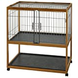 Richell Mobile Critter Condo Small Pet Pen