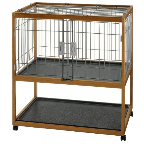 Richell Mobile Critter Condo Small Pet Pen by Richell